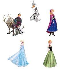 Disney детские настенные наклейки Frozen