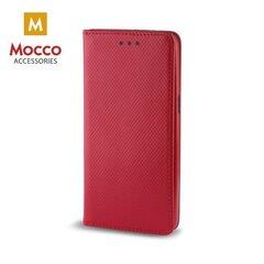Mocco Smart Magnet Book Case For Huawei Mate 10 Lite Red kaina ir informacija | Maciņi, somiņas | 220.lv