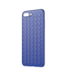 Baseus Weaving Case Impact Silicone Case for Apple iPhone 7 / 8 Blue
