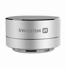 Swissten Bluetooth 4.0 Bluetooth Wireless portatīvais skaļrunis, Silver