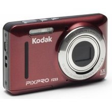 Kodak FZ152, Sarkana cena un informācija | Digitālās fotokameras | 220.lv
