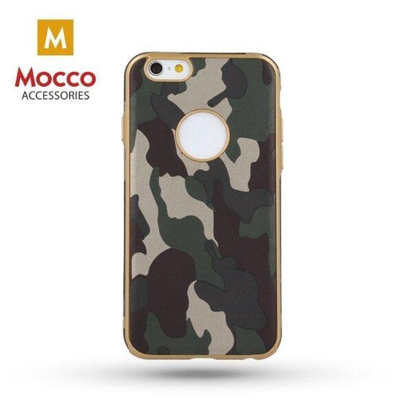 Mocco Army Back Case Армейский Силиконовый чехол для Apple iPhone 6 / 6S Зеленый