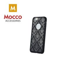 Mocco Ornament Back Case Silicone Case for Apple iPhone 6 / 6S Black