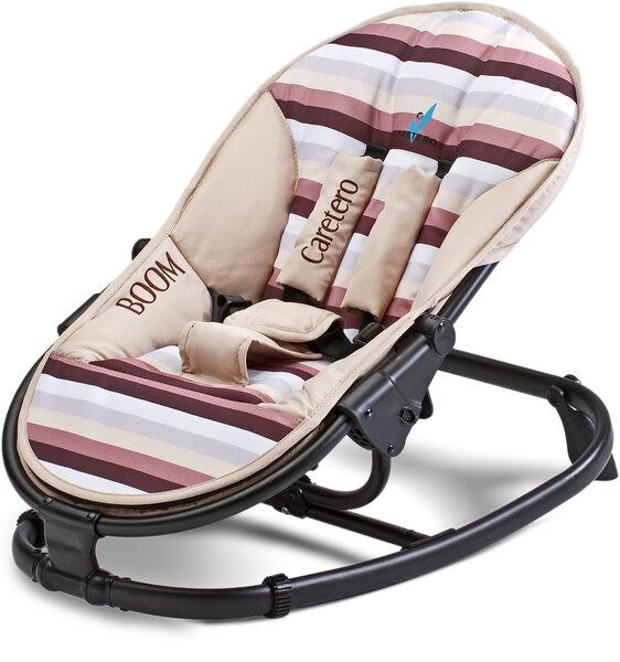 Caretero bērnu krēsls-gultiņa Bloom, brūns