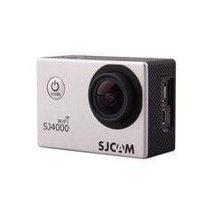 SJCAM SJ4000 WiFi, Sidabrinė cena un informācija | SJCAM SJ4000 WiFi, Sidabrinė | 220.lv