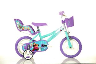 "Meiteņu velosipēds Dino Bikes Ledus Sirds (Frozen) 12"", 126RL-FZ2"