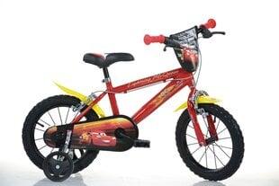 """Zēnu velosipēds Dino bikes Zibens Makvīns (Cars) 14"""", 414U-CS3"""