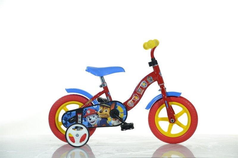 "Zēnu velosipēds Dino bikes Suņu patruļa (Paw Patrol) 10"", 108L-PW"