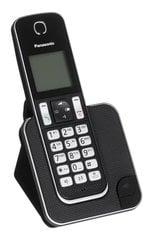 Panasonic KX-TGD310PDB, Melns