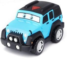 Radiovadāmā automašīna Bburago Junior Jeep Lil Driver, 16-82301 cena un informācija | Rotaļlietas zīdaiņiem | 220.lv