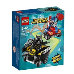 76092 LEGO® Super Heroes Spēcīgie mazie: Batman™ pret Harley Quinn™
