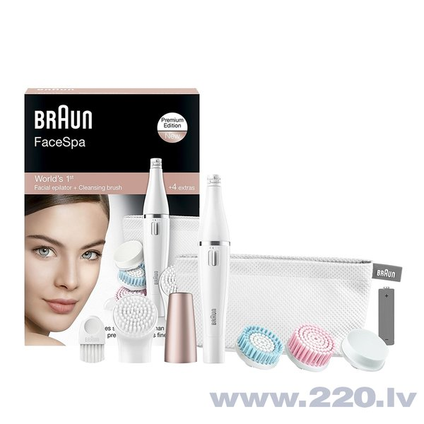 Epilators Braun FaceSpa 851V
