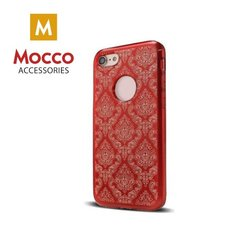 Mocco Ornament Back Case Silicone Case for Apple iPhone 6 / 6S Red