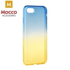 Mocco Gradient Back Case Silicone Case With gradient Color For Xiaomi Redmi 4X Blue - Yellow