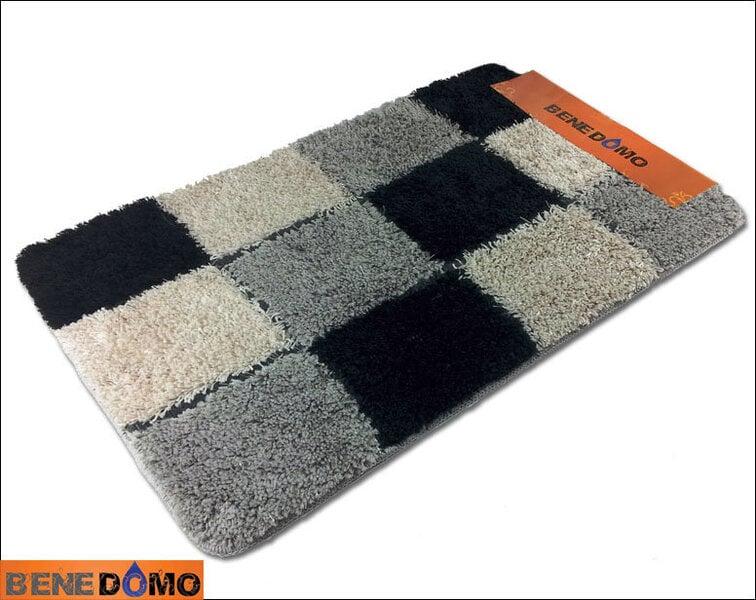 Vannas istabas paklājs Benedomo 55x90 cena un informācija | Vannas istabas aksesuāri | 220.lv