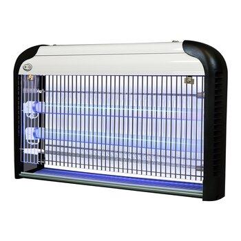 Лампа против комаров Sanico IK206-2 x 15 W 38 W 2-UVAT8, серебристо-чёрный