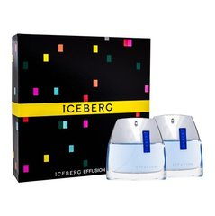 Комплект Iceberg Effusion: EDT 75 ml + бальзам после бритья 75 мл