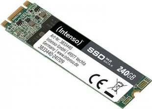Vidinis kietasis diskas Intenso 3833440 High Performance internal SSD, 240GB M.2 SATA III
