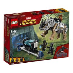 76099 Kонструктор LEGO® Marvel Super Heroes Rhino Face-Off by the Mine