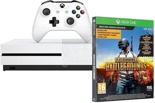 Microsoft Xbox One S 1TB White + PlayerUnknowns Battlegrounds