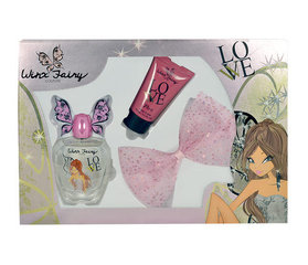 Набор Winx Fairy Couture Flora: EDT 100 мл + Body Milk 75 мл + заколка для волос