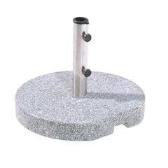 Apaļš lietussargu stends Granit 25 kg cena un informācija | Saulessargi, marķīzes un statīvi | 220.lv