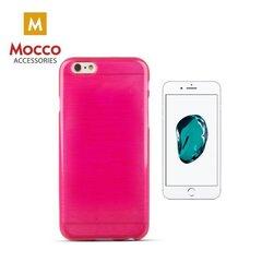 Telefona maciņšMocco Jelly Brush Case, piemērots Apple iPhone 5 / 5S / SE telefonam, rozā