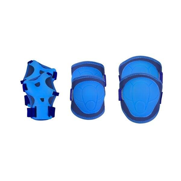 Drošības komplekts bērniem Spokey Buffer, zils