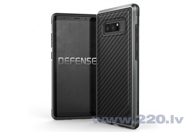 Samsung Galaxy Note 8 Defense Lux Cover By Xdoria Carbon Fiber