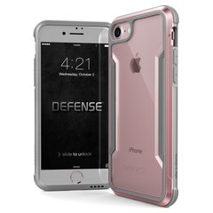 Apple iPhone 7/8 Defense Shield Cover By Xdoria Rose Gold
