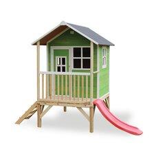 """Koka rotaļu māja """"Loft 300"""", zaļa, EXIT (FSC 100%)"""