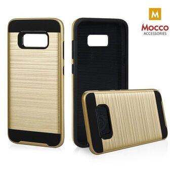 Aizsargvāciņš Mocco Motomo Defender Super Protection Back Case, piemērots Samsung G955 Galaxy S8 Plustelefonam, zeltains cena un informācija | Maciņi, somiņas | 220.lv