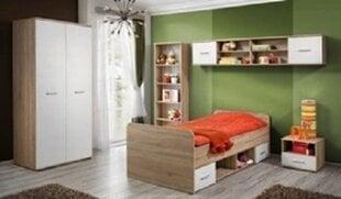 Bērnu istabas mēbeļu komplekts Dino II, ozols / balts