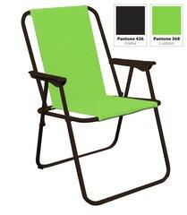 Salokams tūristu krēsls, gaiši zaļš