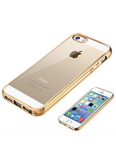 Back cover Mirror for iPhone SE/5/5S/5C (Gold)