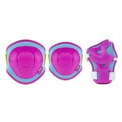 Комплект щитков Nils Extreme H106, розовый