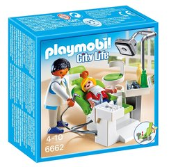 Konstruktors 6662 PLAYMOBIL® City Life, Dentist with Patient