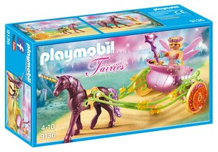Конструктор 9136 PLAYMOBIL® Fairies, Единорог и карета