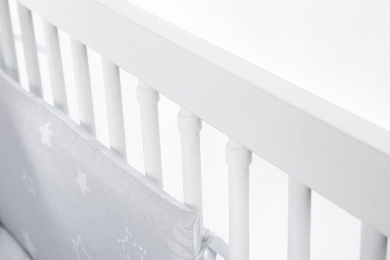 Bērnu gultiņa Nel 120x60 Cloud, balta atsauksme