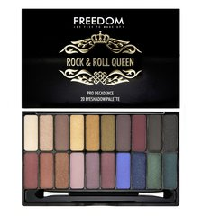 Acu ēnu palete Freedom Pro Decadence Palette Rock & Roll Queen 18 g