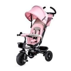 Daudzfunkcionāls stumjams bērnu trīsritenis ar aksesuāriem AVEO, Kinderkraft, rozā cena un informācija | Trīsriteņi | 220.lv