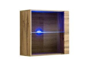 Подвесной шкаф Switch WW 3, дуб цена и информация | Комоды, ночные шкафчики | 220.lv
