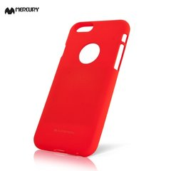 Telefona aizmugurējais apvalks  Mercury Soft Feeling, paredzēts Samsung J730Galaxy J7 (2017), sarkans