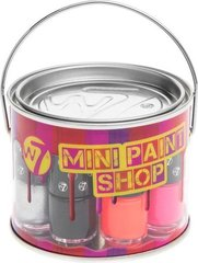 Лак для ногтей W7 Mini Paint Shop 8 x 4 мл