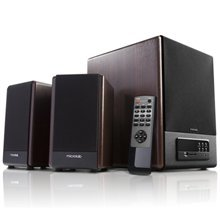 Microlab FC-530U 2.1 Speakers/ 64W RMS (18Wx2+28W)/ Remote/ FM Radio/ USB, SD Card Slots