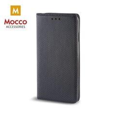 Atverams maciņš Mocco Smart Magnet, piemērots Huawei P20Plus / Pro telefonam, melns
