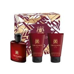 Komplekts Trussardi Uomo The Red: EDT 30 ml + dušas želeja 2*30 ml