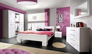 Guļamistabas mēbeļu komplekts Vicky 160, balts cena un informācija | Komplekti guļamistabai | 220.lv