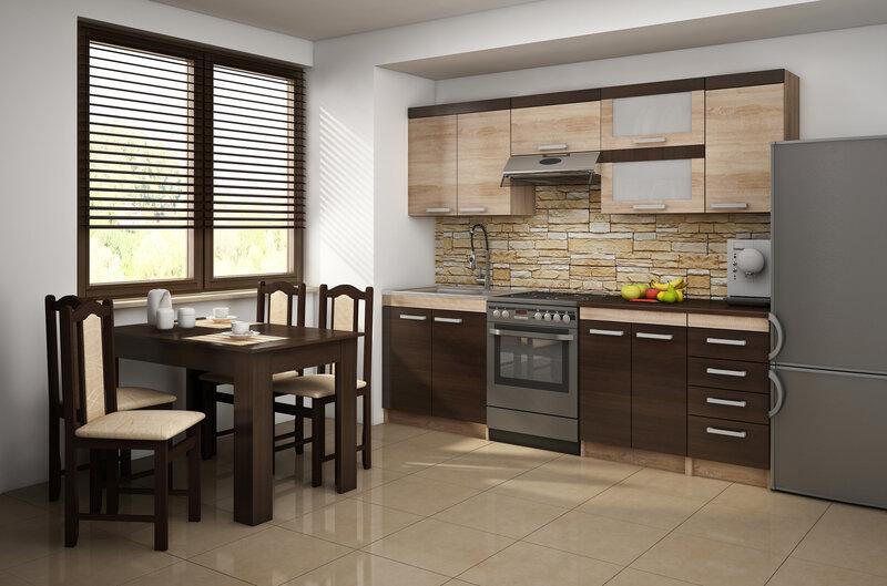 Virtuves plaukts Milo S30OZ, ozols internetā
