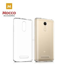 Aizsargmaciņš Mocco Ultra Back Case 0.3 mm Silicone Case Huawei Y9 (2018) Transparent